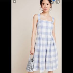 NWT Anthropologie gal meets glam Nikki gingham